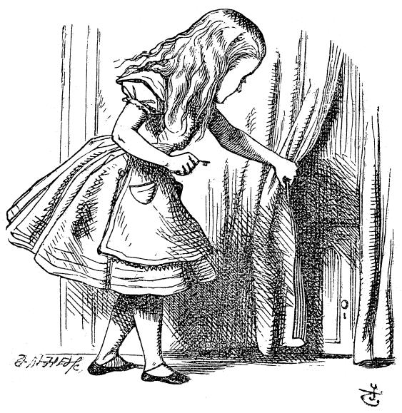 иллюстрация Тенниела