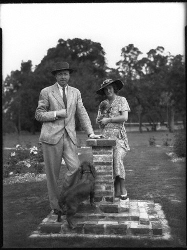 Кронин с супругой Агнес Мари, 1937
