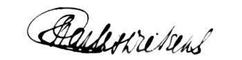 Диккенс подпись