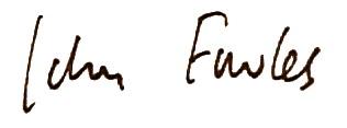 Фаулз подпись