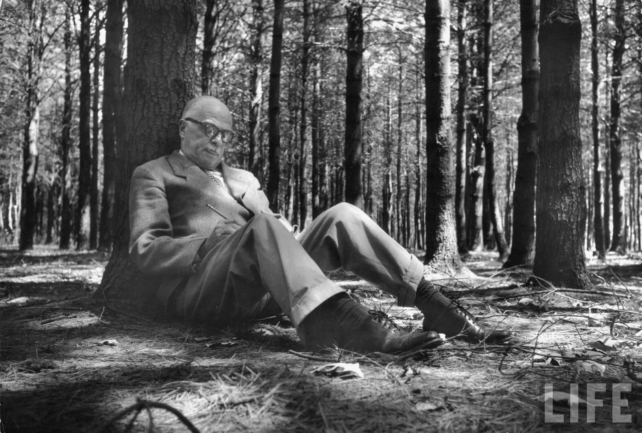 Уайлдер в Саратога Спрингс, 1956