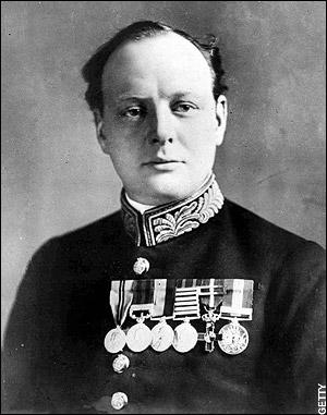 Черчилль, 1914