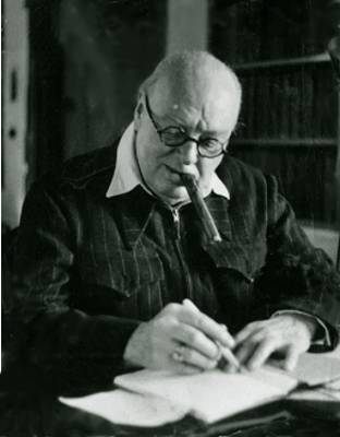 Черчилль портрет